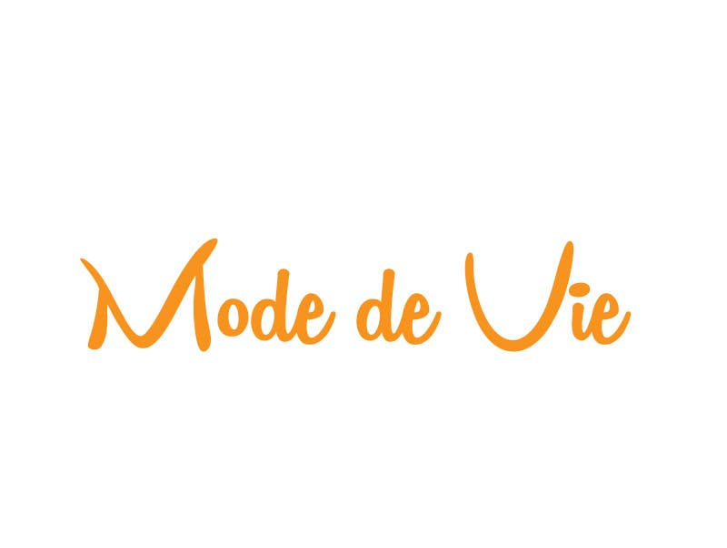 Contest Entry #                                        38                                      for                                         Design A Logo For Brand Name: Mode de Vie