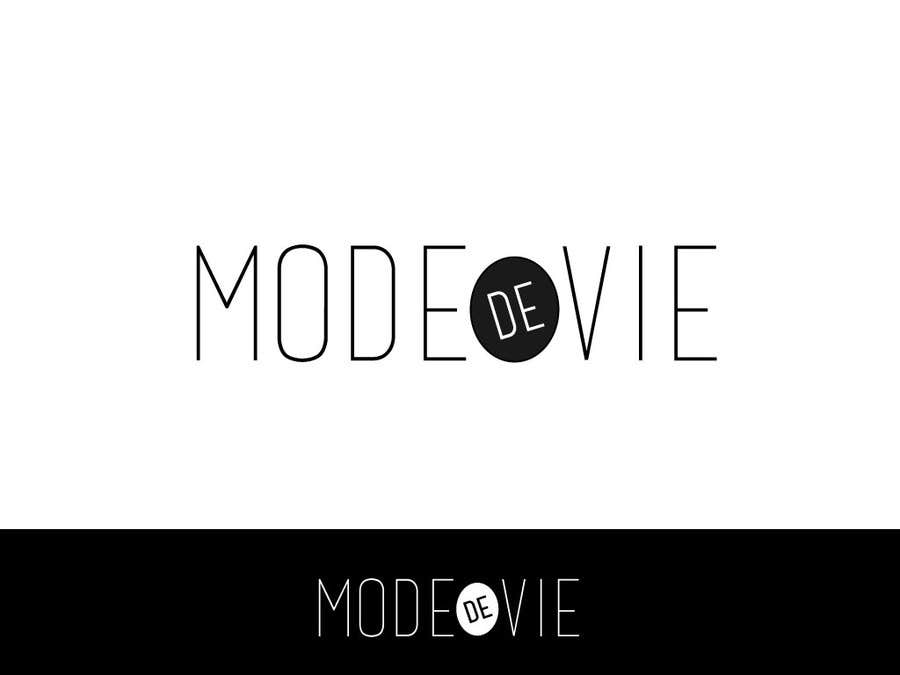 Proposition n°9 du concours Design A Logo For Brand Name: Mode de Vie