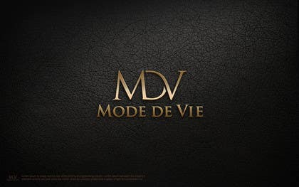 #28 for Design A Logo For Brand Name: Mode de Vie af usmanarshadali