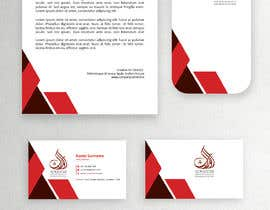 """#9 cho Stationary Design """"LetterHead A4 , Envelop Two size, folder, Notes, and Employee ID"""" for the Firm bởi rabbym412"""