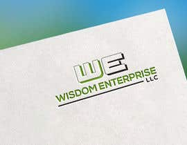 lovelum572 tarafından I need a professional logo created for Wisdom Enterprise, LLC It's important to have W E highlighted in some creative way. için no 72