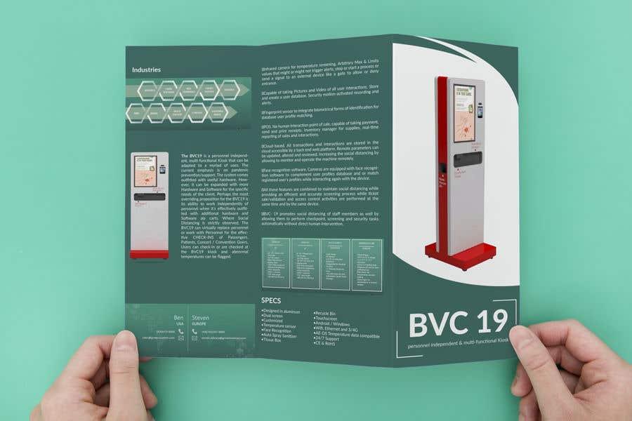 "Konkurrenceindlæg #                                        8                                      for                                         Design of one page brochure: Tri Fold 8.5"" x 11"""