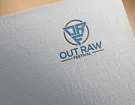 #61 for Out Raw Festival Logo design af ridesign38