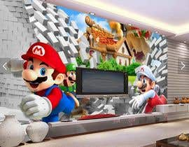#10 for Build a wall design for my house - Mario bross as an example af vtduih