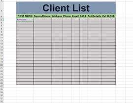 #8 for Excel spread sheet needed af tahirnaseerca