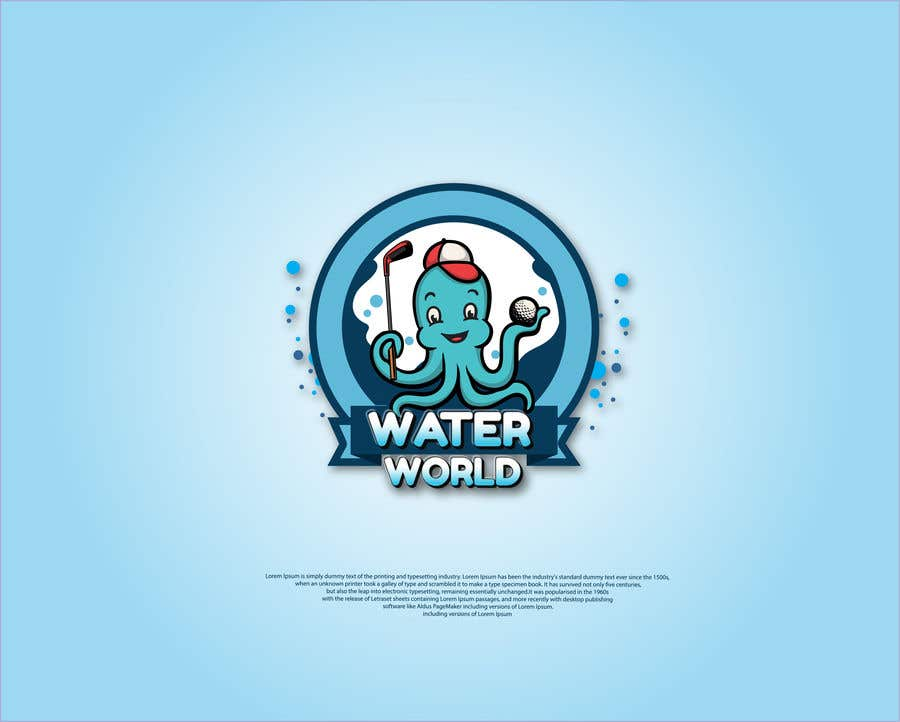 Contest Entry #                                        276                                      for                                         LOGO - Underwater Theme Mini Golf