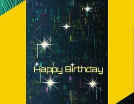 #110 for Birthday Card design af Shahnaz8989