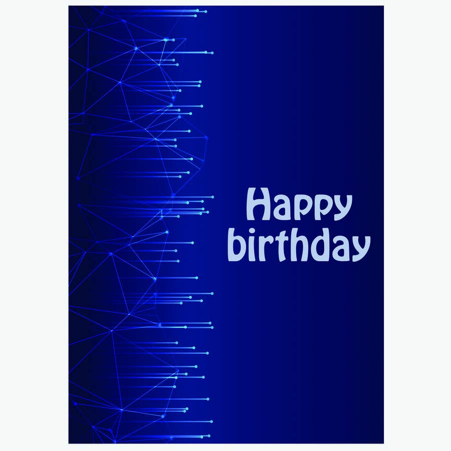 Konkurrenceindlæg #                                        112                                      for                                         Birthday Card design