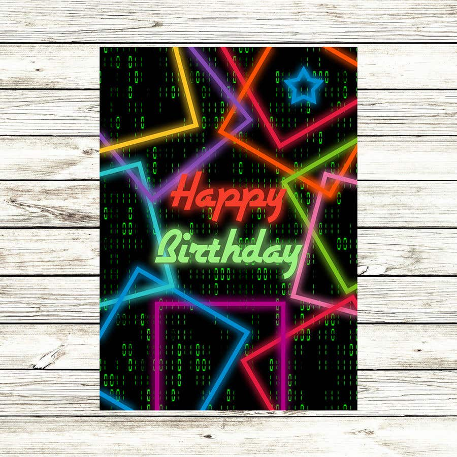 Konkurrenceindlæg #                                        113                                      for                                         Birthday Card design