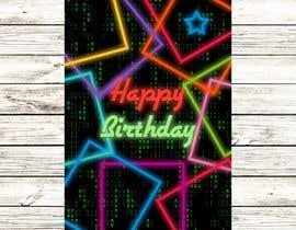 #113 for Birthday Card design af UtkU666