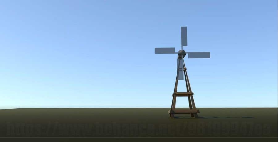 Bài tham dự cuộc thi #                                        21                                      cho                                         Illustrate and Animate Original Old-Fashioned Windmill