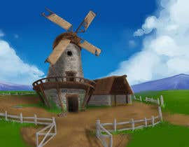 #30 cho Illustrate and Animate Original Old-Fashioned Windmill bởi paezmiguel569