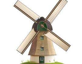 #27 untuk Illustrate and Animate Original Old-Fashioned Windmill oleh CheAzan