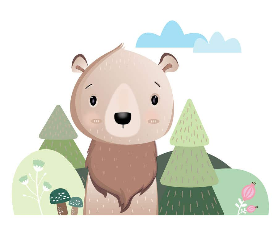 Contest Entry #                                        42                                      for                                         Cute bear vector illustration