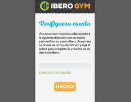 #49 para Design an App Mockup for a Gym por jakuart