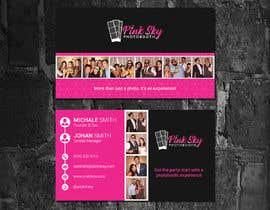 #300 cho Fun and Creative Photo Booth Business Card (2-sided) bởi abrarsumon