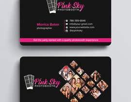 #272 cho Fun and Creative Photo Booth Business Card (2-sided) bởi techatiq378