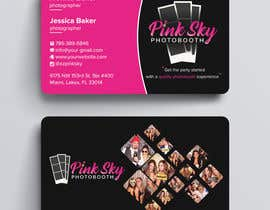 #291 cho Fun and Creative Photo Booth Business Card (2-sided) bởi techatiq378