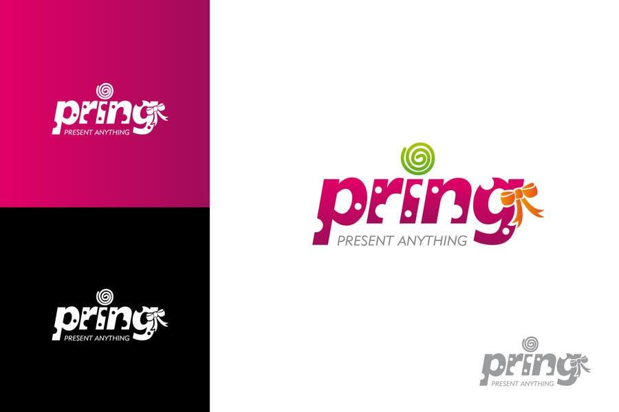 Kilpailutyö #58 kilpailussa Logo Design for Pring