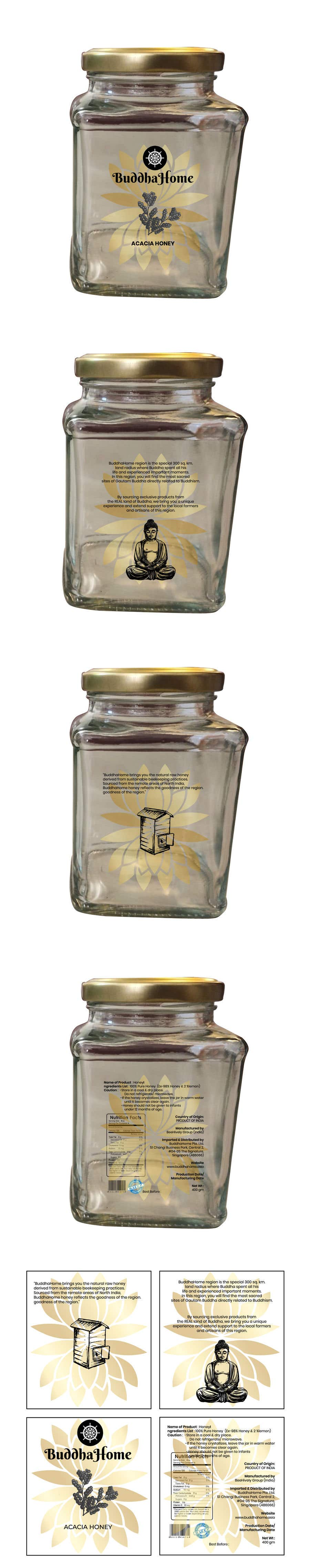 Bài tham dự cuộc thi #                                        109                                      cho                                         Honey Label Designing Contest