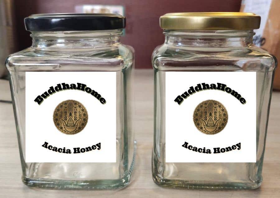 Kilpailutyö #                                        112                                      kilpailussa                                         Honey Label Designing Contest