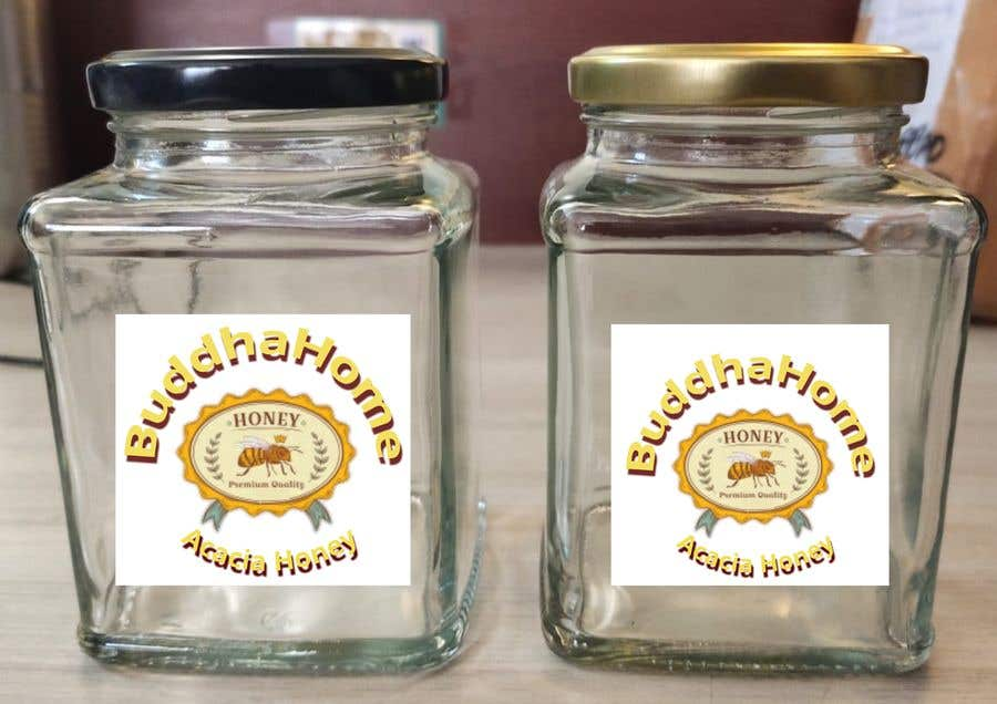 Kilpailutyö #                                        115                                      kilpailussa                                         Honey Label Designing Contest