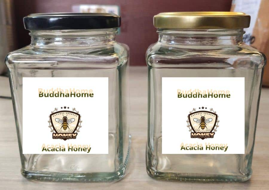 Kilpailutyö #                                        116                                      kilpailussa                                         Honey Label Designing Contest