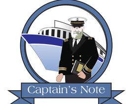 #12 para Design a Logo for CaptainsNote.com de thedubliner