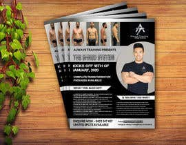 #46 untuk Create Advertising Poster For Transformation Challenge oleh osimakram120