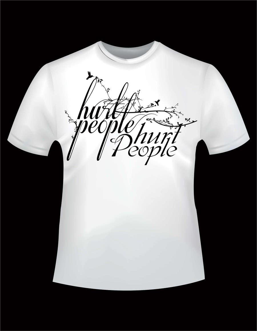 Participación en el concurso Nro.49 para Design a T-Shirt for HURT PEOPLE
