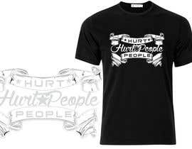 #59 untuk Design a T-Shirt for HURT PEOPLE oleh maminegraphiste