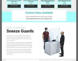 #5 cho Professional Draft or Predesign Startpage B2B E-Commerce - Mockup bởi hosnearasharif