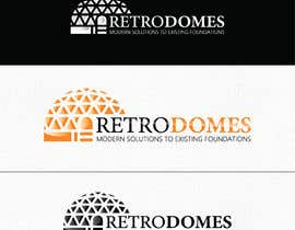 #143 untuk Logo For Specialty Product - RetroDomes oleh OssaGraphics