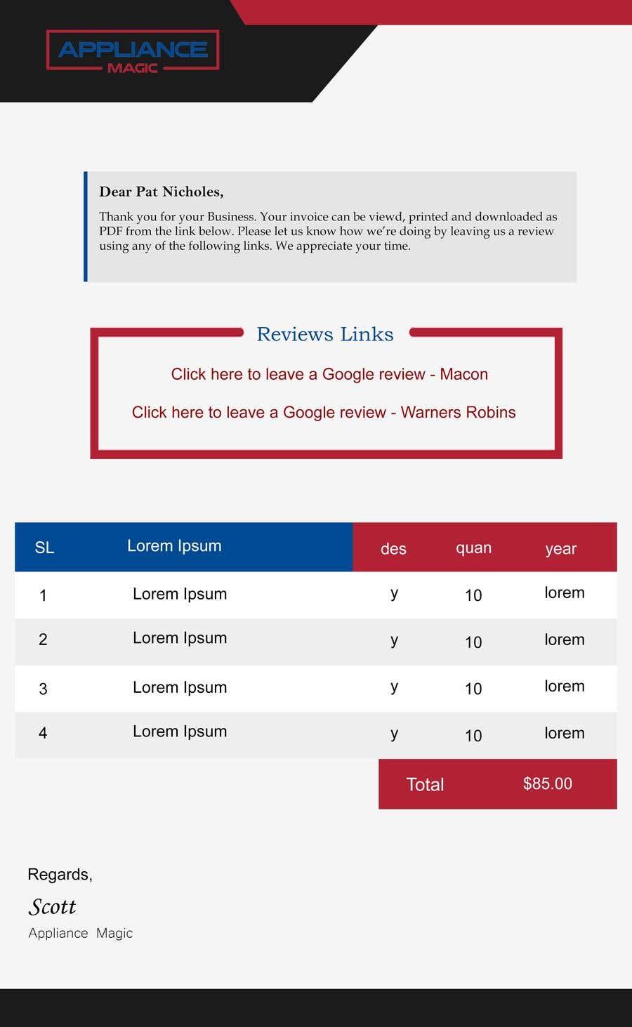 Penyertaan Peraduan #                                        30                                      untuk                                         Inline CSS - HTML Contest - ShortCodes:  Simple Invoice Page