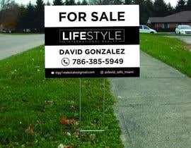 #61 untuk David Gonzalez - For Sale Sign oleh bestdesign776