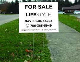 #55 untuk David Gonzalez - For Sale Sign oleh mdshifatsarkar