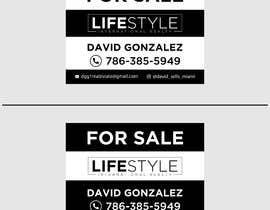#57 untuk David Gonzalez - For Sale Sign oleh mdshifatsarkar