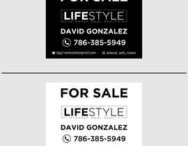 #58 untuk David Gonzalez - For Sale Sign oleh mdshifatsarkar