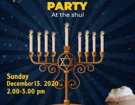 #99 untuk Design a Flyer for a Chanukah Party oleh designerinan