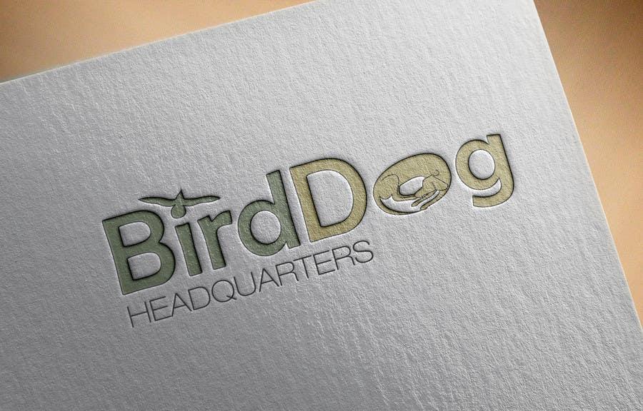 Natečajni vnos #                                        15                                      za                                         Design a Logo for Bird Dog Headquarters