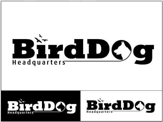 Contest Entry #                                        10                                      for                                         Design a Logo for Bird Dog Headquarters