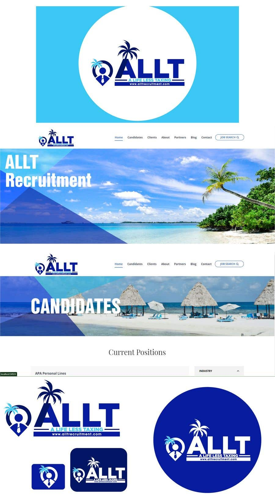 Penyertaan Peraduan #                                        333                                      untuk                                         Logo Design for Recruitment Website
