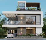 Bài tham dự #18 về 3D Modelling cho cuộc thi 3D Modern Elevation of house and suggest any improvement in map