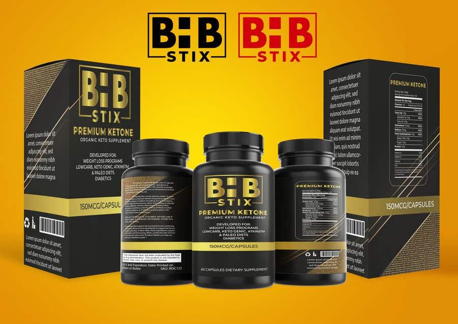 Penyertaan Peraduan #                                        224                                      untuk                                         BHBStix Logo and packaging design.