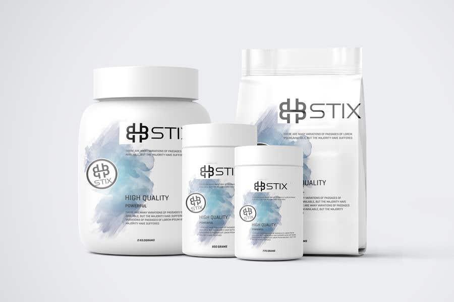 Penyertaan Peraduan #                                        202                                      untuk                                         BHBStix Logo and packaging design.