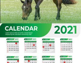 #34 for Calendar for 2021 by Ihcreative