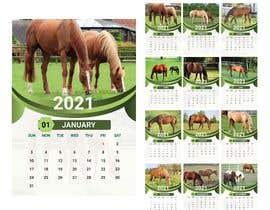 #36 for Calendar for 2021 by farhanaaktertupu