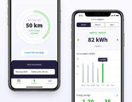 #3 for Dashboard UI of EV Charger App by mmmamon70