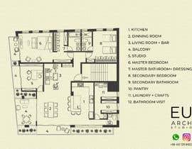 Nro 34 kilpailuun Design the architecture of home (190mq) käyttäjältä euarchitecturest