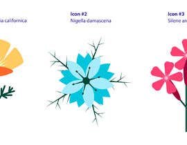 #19 for Vector Flower Icons by JegorBabak